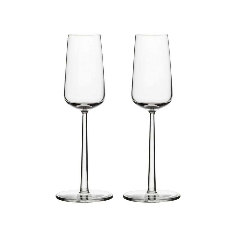 Iittala  - Champagne Flute Glasses - 21 cl - Set of 2